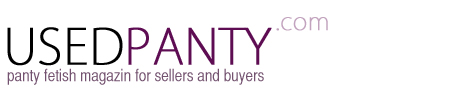 sell used panty guide and worn panties magazin logo